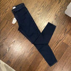 Brand new top shop Joni jeans